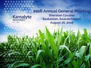 2016 Karnalyte AGM Aug 25